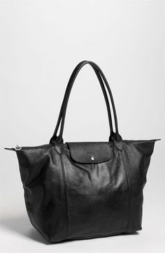 Longchamp Le Pliage Cuir Leather Tote (Nordstrom Exclusive)  23778467ff25e