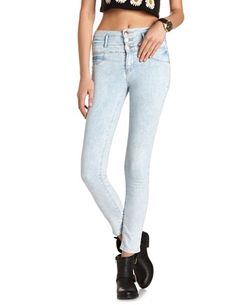 Refuge High Waist Super Skinny Jean: Charlotte Russe | Charlotte