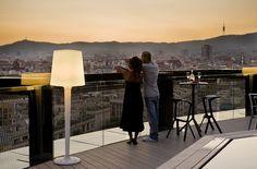 Preciosas vistas desde el hotel Barceló Raval