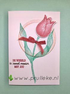 De kleurencombinatie voor januari 2021 is: Soft Suede, Terracotta Tile, Petal Pink en Coastal Cabana. Deze prachtige kleuren heb ik gebruikt om een heerlijk zomers kaartje mee te maken. De set die ik heb gebruikt staat in de Jaarcatalogus en heet Timeless Tulips. In het Nederlands is het Tijdloze Tulpen. #prulleke #prullekekleurencombinatie #timelesstulipsstampset #swirlyframesstampset #stampinupdemonstratrice #echtepostiszoveelleuker #stampinupnederland #stampinupdemo… Stampin Up, Cover, Books, Art, Tulips, Art Background, Libros, Book, Kunst