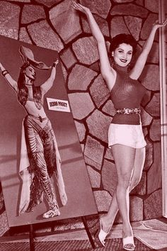 beforethecolon:  TADA! Debra Paget. From...