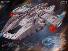 USS Hammer - sketch by DonMeiklejohn on deviantART