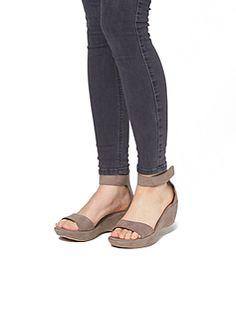 Sandalette in Velours-Optik im s.Oliver Online Shop
