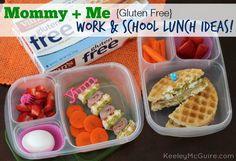 Lunch Made Easy: Mommy + Me Gluten Free Work & School Lunch Ideas