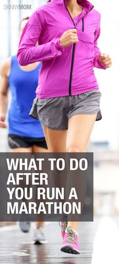 Take the right steps to recovering from a marathon and check out these tips!