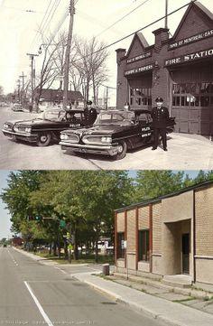 Ancien poste de Pompier et de Police de la ville de Montréal-Est.