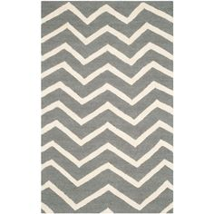 Cambridge Dark Gray/Ivory 2 ft. x 3 ft. Area Rug