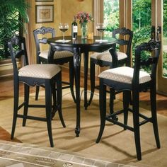 Kitchen Cabinet  8 Wonderful Pub Table And Chair Sets  Pub Table And Chairs Set & Camden - Dark 42