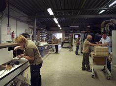 De meubelmakerij van Kees Verhouden Meubelen