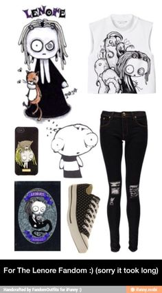 For The Lenore Fandom :) (sorry it took long) / iFunny :)