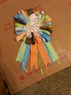 DIY Mommy: DIY Baby Shower Corsage