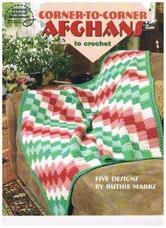 Crochet Pattern -  Corner to Corner AFGHANS on Etsy, $9.10 AUD