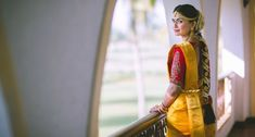 """""""This is our favourite picture from 2016 because we love that look of confidence on Tanisha's face depicting the successful and flawless planning all by her and now she is ready to tie a knot like a queen,"""" the duo states. Goa Wedding, Wedding Blog, Lehenga Wedding, Indian Wedding Photographer, Bride Portrait, Indian Wedding Outfits, Queen, Wedding Story, Minimalist Wedding"""