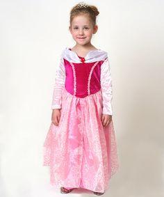 Pink Princess Dress - Girls #zulily #zulilyfinds