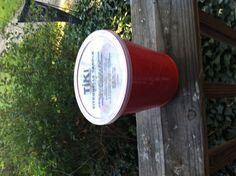 $.99 quart tub citronella candle