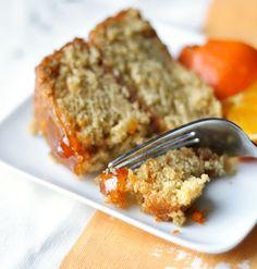 Vegan Recipe: Sticky Orange Cake with Marmalade Glaze
