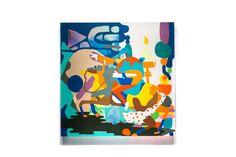 Juxtapoz Magazine - Mike Perry: Wiggly Pop Sensations