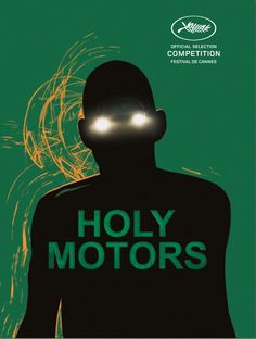 Poster for Cannes selection 'Holy Motors'