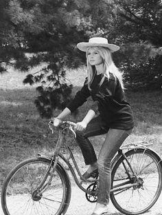 Brigitte Bardot en jean 501 de Levi's