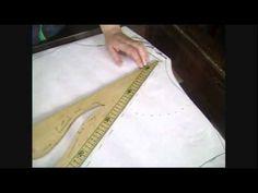 """Como trazar blusa cruzada drapeada """"Peticion"""" - YouTube"""