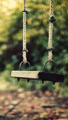 An Old Swing. Tap to see more iPhone Vintage Style Wallpapers! - @mobile9