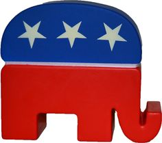 We have the best selection of Political and Election gifts. Democrats And Republicans, Stress Toys, Elephant, Gifts, Presents, Elephants, Gifs, Gift
