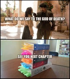 The God of Death: George RR Martin