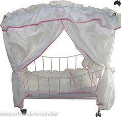 Dolls bed   Christmas gift idea  http://r.ebay.com/hzHaW4  emporium downunder