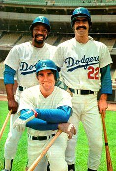 Jimmy Wynn, Steve Garvey, and Bill Buckner, 1974
