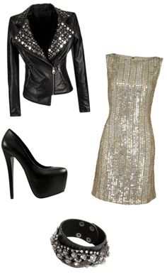 """""""Rock 'n' Roll Chic"""" by chargergirlz ❤ liked on Polyvore"""