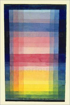 Paul Klee - Architektur der Ebene