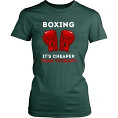 If you are a proudboxer&boxenthusiast then Boxing It's cheaper than Therapytee or hoodie is for you.CustomBoxingT-Shirts&Clothing for men, women.
