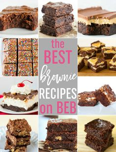 The Best Brownie Recipes on Brown Eyed Baker - 10 of my favorite brownies, all in one place! via @browneyedbaker