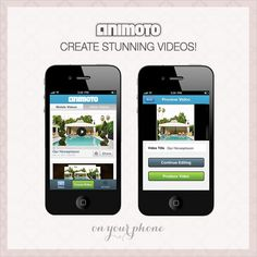 Animoto app for iPhone