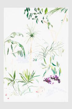 Alicia Galer Barbican Palm Print - anthropologie.eu £108