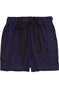 Steven Alan  Alexis brushed-twill shorts
