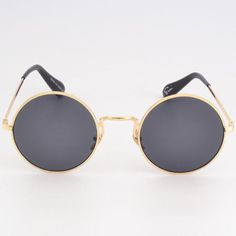 6e22724361 ERRAI Vintage Retro Steampunk Round Mirror Sunglasses Men Women Metal Black  Blue Sunglasses High Quality UV400