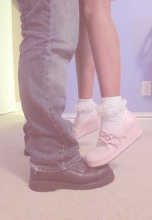 THESE PINK SHOES!!!!