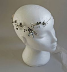 orla delicate hair vine by glass oyster | notonthehighstreet.com