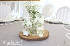 decoración rustica para boda - rustic chic wedding decoration - decoración de boda rustic chic http://thegodmothergoodies.wordpress.com/2014/03/20/decoracion-rustica-bodas/