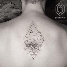 geometric-diamond-tattoo-design.jpg (595×595)