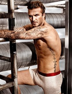David Beckham ditches his clothes (and his underwear) in a new teaser spot for his H&M line Super Bowl commercial.