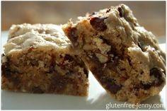 Gluten Free Congo Bars | GlutenFree-Jenny