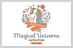 Magical Unicorns By Shark&Croc co.