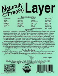 Scratch and peck feeds dont forget to use coupon code nogmos naturally free layer is a verified non gmo and certified organic product our layer fandeluxe Choice Image