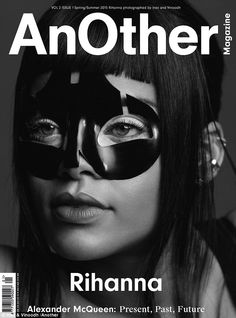 Rihanna covers Another Magazine