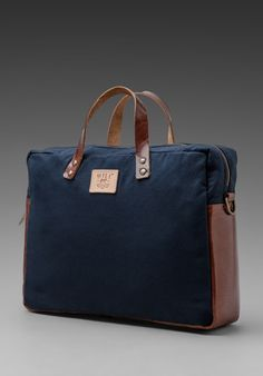 WILL LEATHER GOODS General Conroy Flight Bag in Navy at Revolve Clothing - Free Shipping!