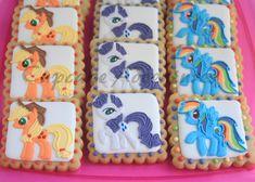 My Little Pony Cookies via Cupcake Adventures http://cupcake-adventures.blogspot.com/