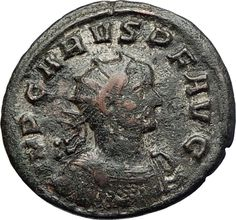 CARUS Authentic Ancient 283AD Original Roman Coin SPES HOPE GODDESS i71284 Rare Coins, Coin Collecting, Seals, Roman, Investing, Greek, Lettering, The Originals, Rings