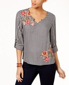 Women S Petite Tops Blouses Shirts Macy S Style Inspirations